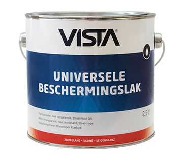 Vista Universele Beschermingslak Zijdeglans Blank
