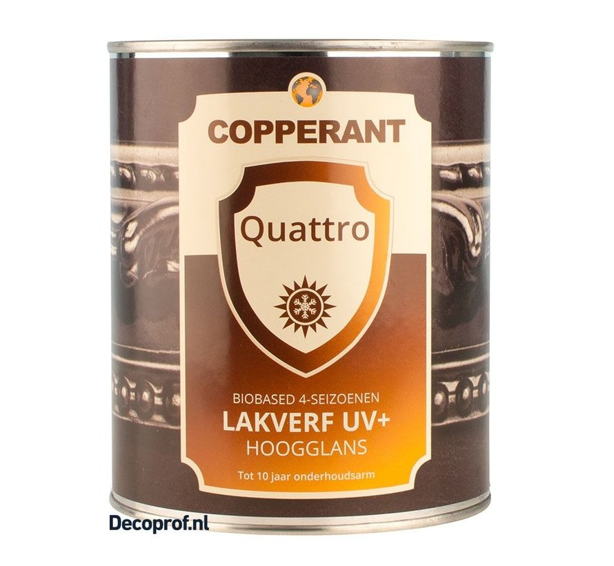 Quattro Lakverf Hoogglans UV+