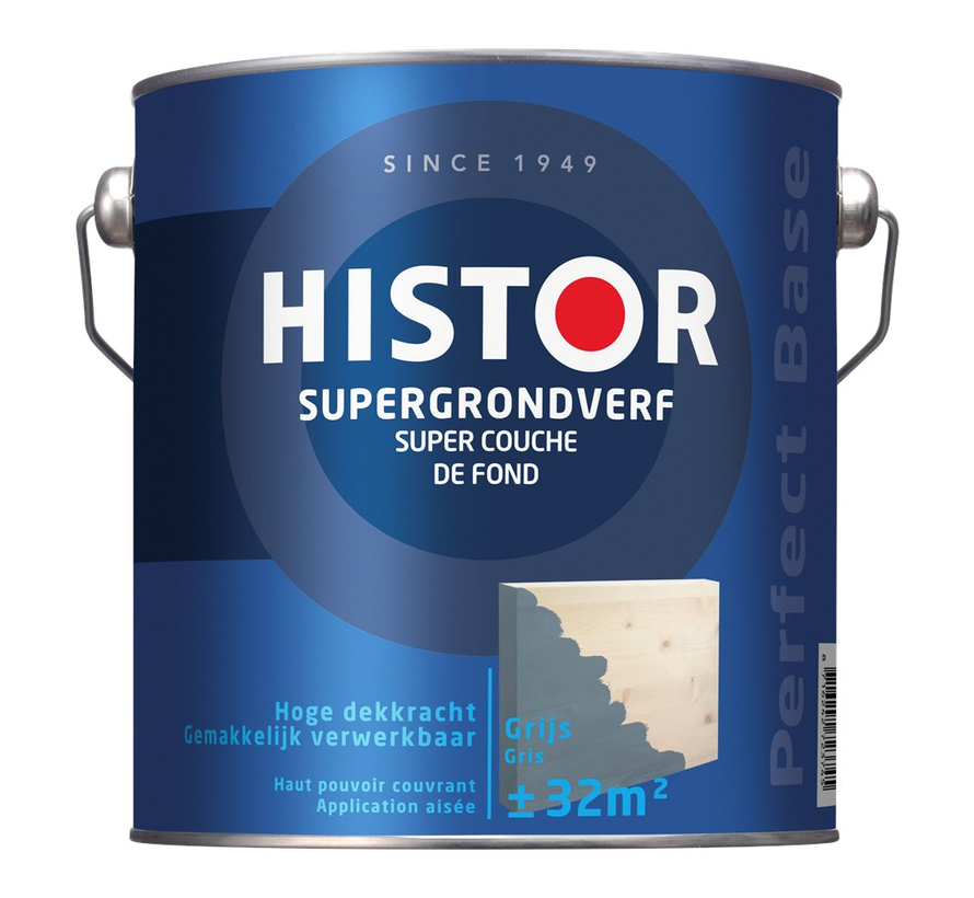 Perfect Base Supergrondverf Grijs