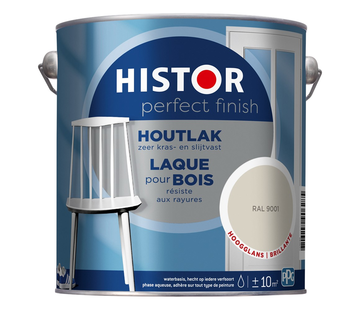 Histor Perfect Finish Houtlak Hoogglans RAL9001
