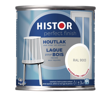 Histor Perfect Finish Houtlak Hoogglans RAL9003