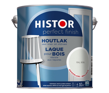 Histor Perfect Finish Houtlak Hoogglans RAL9016