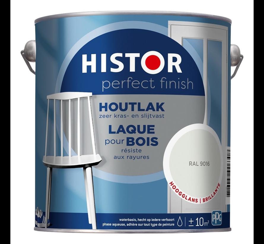 Perfect Finish Houtlak Hoogglans RAL9016