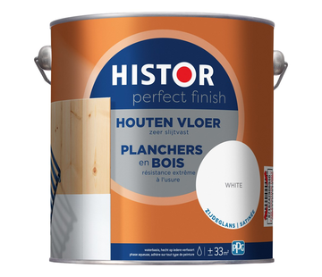 Histor Perfect Finish Houten Vloer Zijdeglans Wit