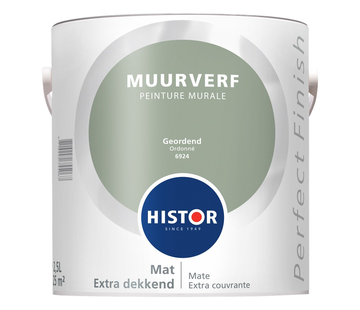 Histor Perfect Finish Muurverf Mat 6924