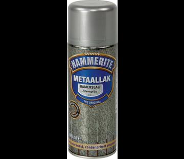 Hammerite Metaallak Hamerslag Zilvergrijs Spuitbus