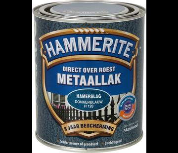 Hammerite Metaallak Hamerslag Donkerblauw