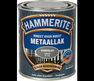 Hammerite Metaallak Hamerslag Grijs