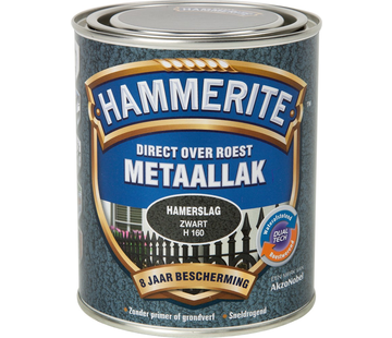 Hammerite Metaallak Hamerslag Zwart
