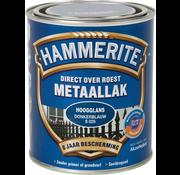 Hammerite Metaallak Hoogglans Donkerblauw