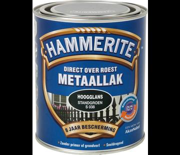 Hammerite Metaallak Hoogglans Standgroen