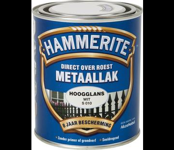 Hammerite Metaallak Hoogglans Wit