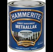 Hammerite Metaallak Hoogglans Zilver