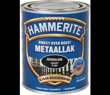 Hammerite Metaallak Hoogglans Zwart