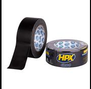 HPX Tapes Pantsertape Zwart 25 mtr