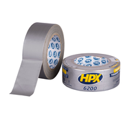 HPX Tapes Pantsertape Zilver 25 mtr