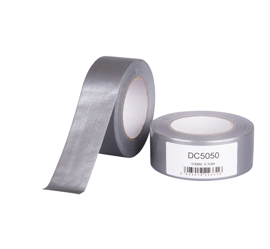 Duct Tape 1900 Zilver 50 mtr
