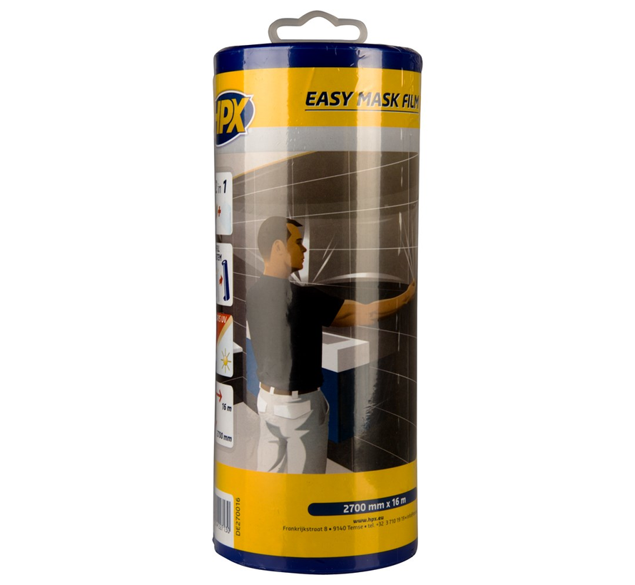 Easy Mask Film Crepepapier + Dispenser 16 mtr