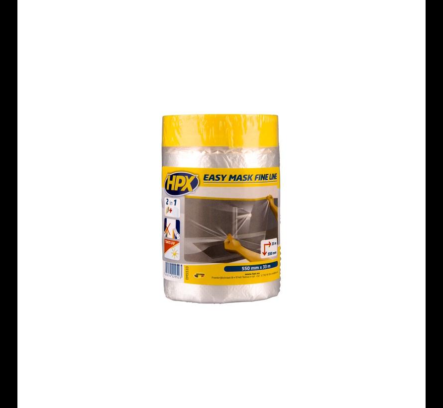 Easy Mask Film Masking Tape Gold 33 mtr