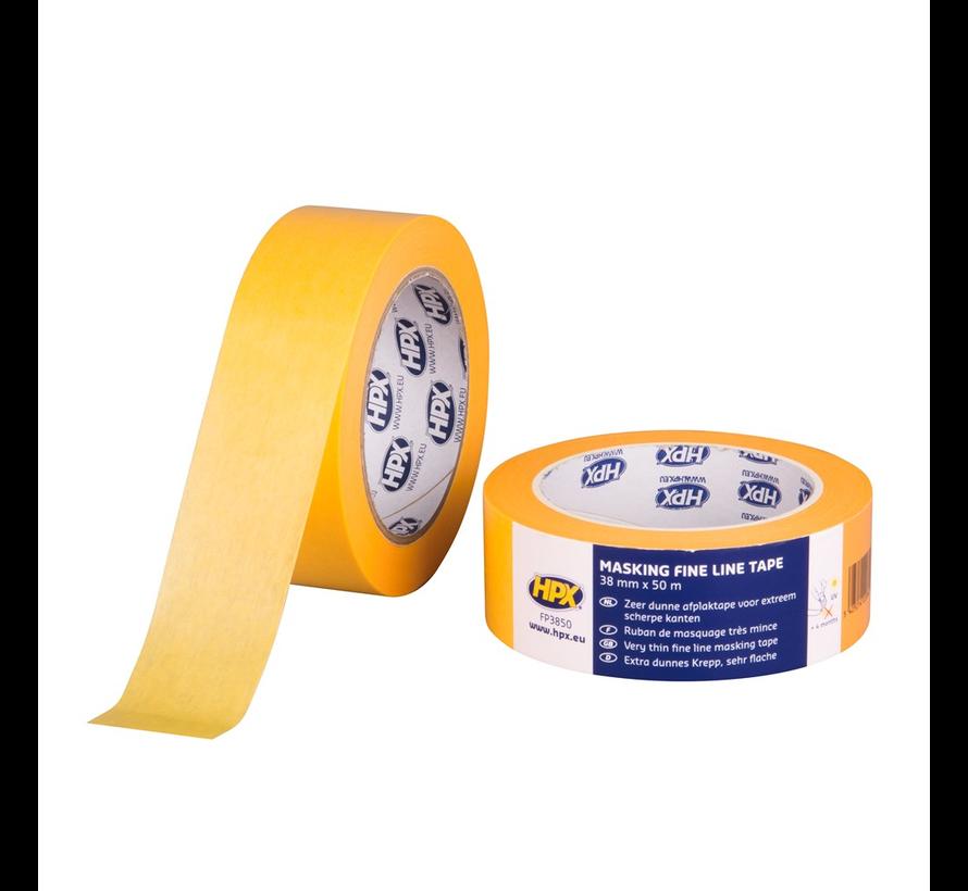 Masking Tape 4400 Oranje 50 mtr