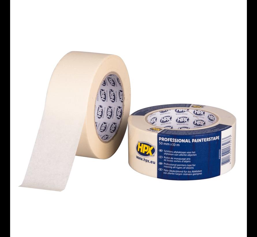 Masking Tape 60°C Cremewit 50 mtr