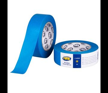 HPX Tapes Masking Tape UV Blauw 50 mtr