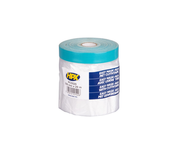 HPX Tapes Easy Mask Film Cloth Tape 20 mtr