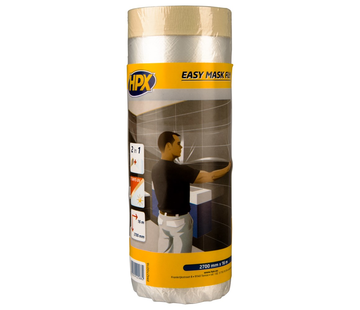 HPX Tapes Easy Mask Film Crepepapier 16 mtr