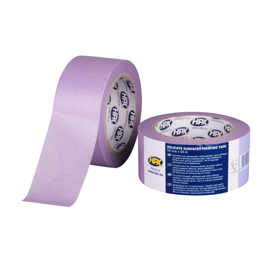 Masking Tape 4800 Paars 50 mtr
