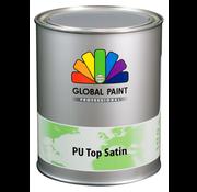 Global Paint Aquatura PU Top Satin Testpotje