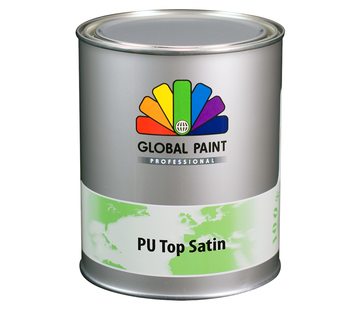 Global Paint Aquatura PU Top Satin Testpotje