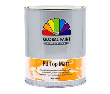 Global Paint Aquatura Pu Top Matt