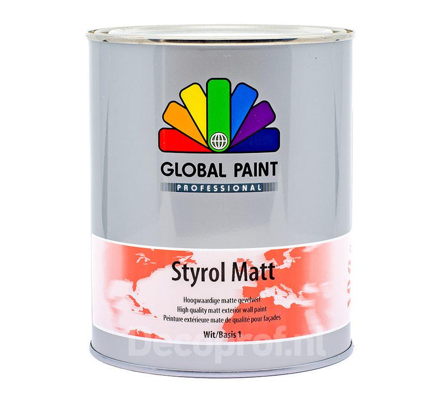 Styrol Matt | Matte Gevelverf