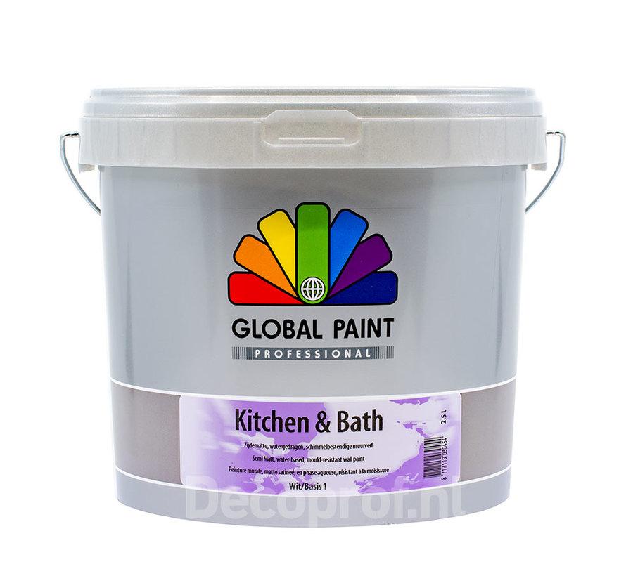 Kitchen & Bath   Matte Schimmelwerende Muurverf