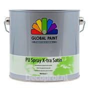 Global Paint Aquatura PU Spray X-Tra Satin
