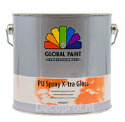 Global Paint Aquatura PU Spray X-Tra Gloss