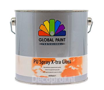 Global Paint Aquatura PU Spray X-Tra Gloss