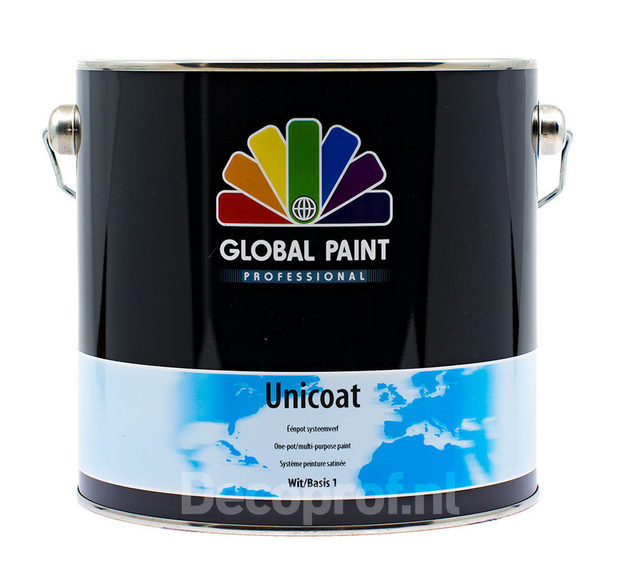 Unicoat | Zijdeglans Eén-pot-systeem