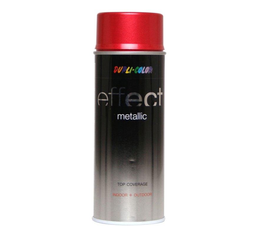 Deco Effect Metallic Red