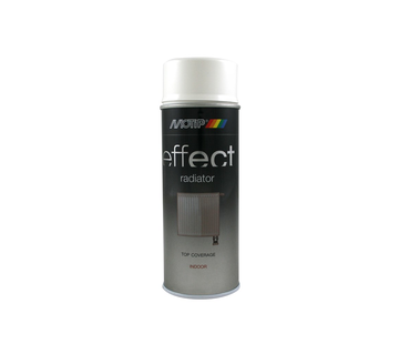 MoTip Deco Effect Radiatorspray White Hg