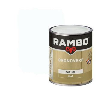 Rambo Grondverf Hout Buiten Wit