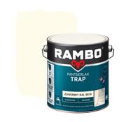 Rambo Pantserlak Trap Dekkend Zijdeglans RAL9010