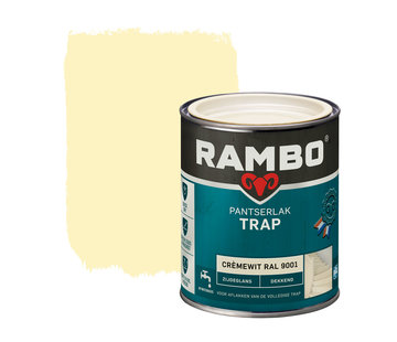 Rambo Pantserlak Trap Dekkend Zijdeglans RAL9001