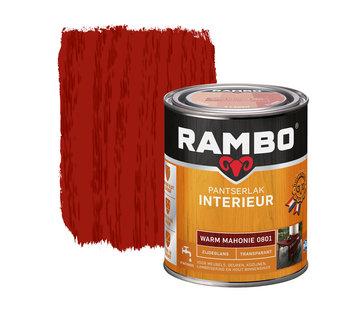 Rambo Pantserlak Interieur Transparant Zijdeglans Warm Mahonie 0801