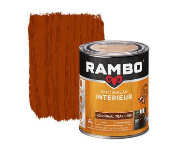 Rambo Pantserlak Interieur Transparant Mat Koloniaal 0769