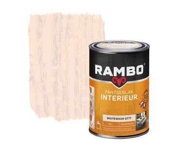 Rambo Pantserlak Interieur Transparant Mat Whitewash 0777