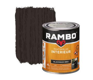 Rambo Pantserlak Interieur Transparant Mat Blackwash 0802