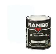 Rambo Pantserlak Deur&Kozijn Hoogglans Dekkend Wit 1100