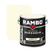 Rambo Pantserlak Deur&Kozijn Hoogglans Dekkend Ivoorwit 1101