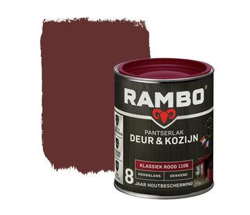 Rambo Pantserlak Deur&Kozijn Hoogglans Dekkend Klassiekrood 1106
